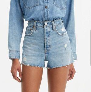 Levi's Premium Ribcage Shorts